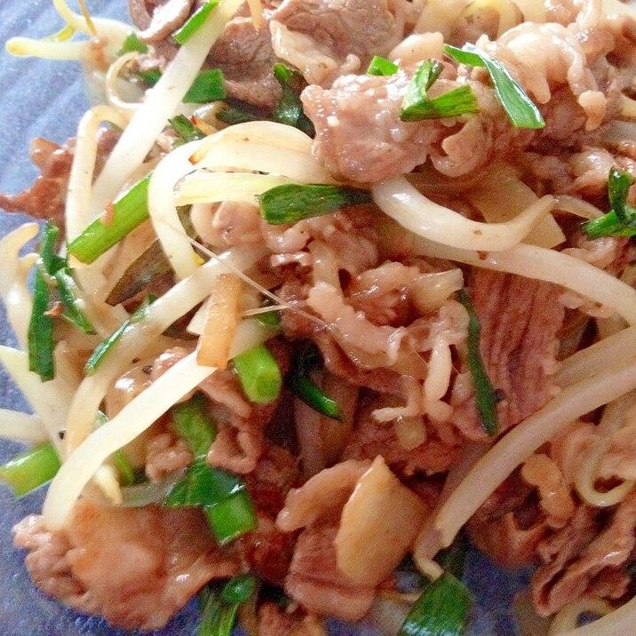 お弁当にも♪「生姜入り☆牛肉多めシャキシャキ野菜炒