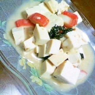 豆腐のさらだ
