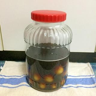 ◆泡盛と黒糖で自家製梅酒◆瓶の消毒も詳しめに◆