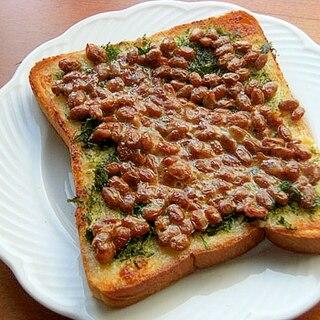簡単!ヘルシー納豆トースト