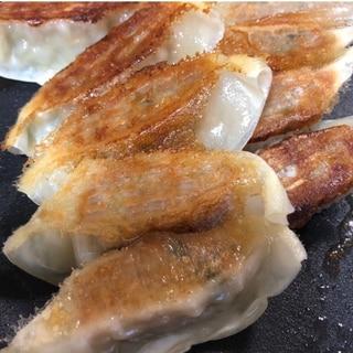 ホットプレート☆冷凍餃子の焼き方