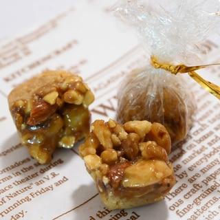 簡単お菓子♡可愛い2層のタルト&キャラメリゼ