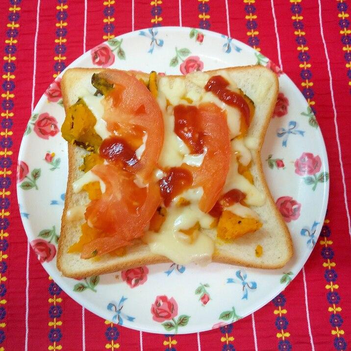 ダブルトマトトースト