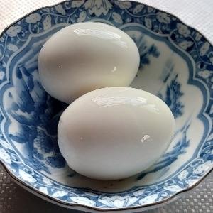 ★基本【ゆで卵】 節水!時短!簡単!省エネ!