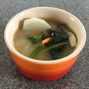 カブ・にんじん・ほうれん草・しめじの味噌汁