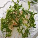 時短・簡単!×夕飯のあと一品に!大根と大葉のサラダ