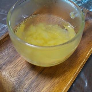 冷房対策に簡単ハチミツりんごドリンク
