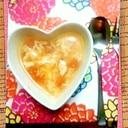 ふわっふわたまごとトマトの簡単美味スープ