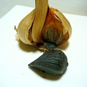 炊飯器で保温するだけ!自宅で作る黒にんにく♪