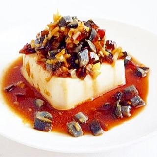 ピータン豆腐  皮蛋豆腐