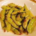 凍ったままフライパンで♪枝豆のペペロンチーノ