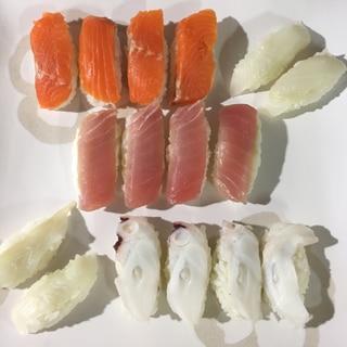 職人さん気分で握る 握り寿司