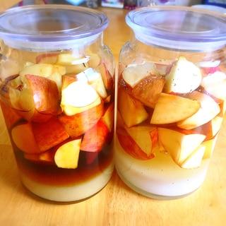 あの味を再現♪リンゴ酢、リンゴ黒酢