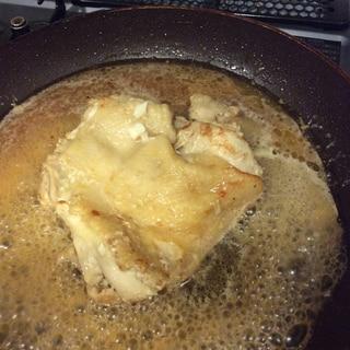絶品!美味しい!簡単鶏肉の鶏ガラスープ焼き!