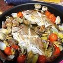 10分で美味しい魚介アクアパッツァ