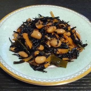 ひじき大豆の甘煮