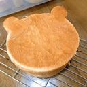 我家のくま食パン