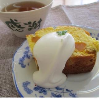 天ぷら粉で作る。かぼちゃのパウンドケーキ
