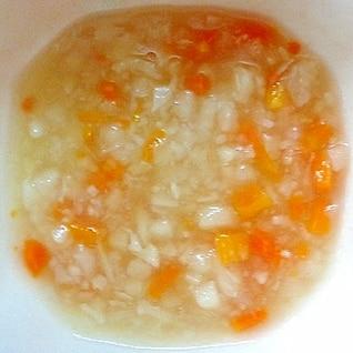 離乳食後期 5種野菜入りコンソメとろとろスープ