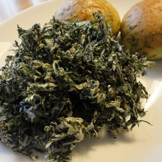 春の香り☆よもぎの下処理(冷凍と乾燥)