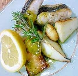 白身魚のポワレ