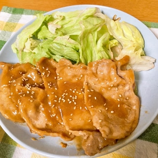 10分で作れる★豚の味噌焼き