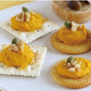 【簡単】かぼちゃとクリームチーズのやみつきカナッペ