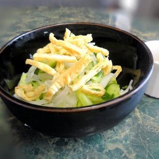 夏大根ときゅうりのサラダ