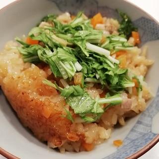 本格的沖縄の炊き込みご飯「もちもち食感ジューシー」