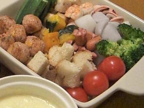 パーティー★チーズフォンデュ