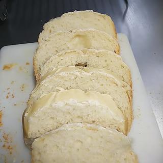 リンゴ酵母元種で作ったHB食パン