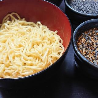 簡単!袋麺で坦々つけ麺!か〜ら〜の〜!出汁割り!