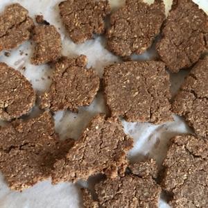 トースターで簡単おからココアクッキー