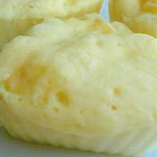 5分でできるむちむちリンゴ蒸しパン