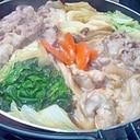 こっくりポカポカ ☆豚と鶏のすきやき☆