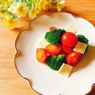 トマトとブロッコリーの美肌サラダ✧˖°