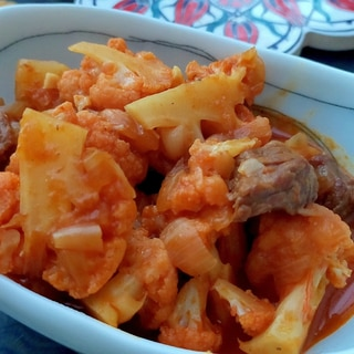 トルコ料理★牛肉とカリフラワーの煮込み