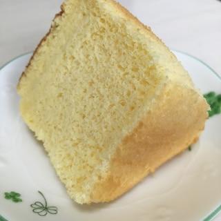 もちもち!米粉でシフォンケーキ(型18cm)