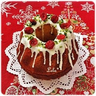 クランベリーのクグロフケーキ