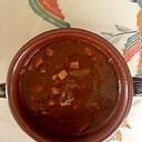 牛スネ肉、ズッキーニのビーフシチュー