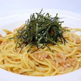 ヘルシー♪ 納豆スパゲティ