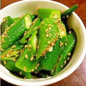 【中華風】オクラ漬物