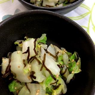 白菜のピリ辛お浸し
