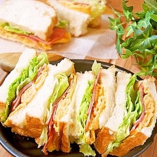 朝食にオススメ!旨味de子供が喜ぶサンドイッチ
