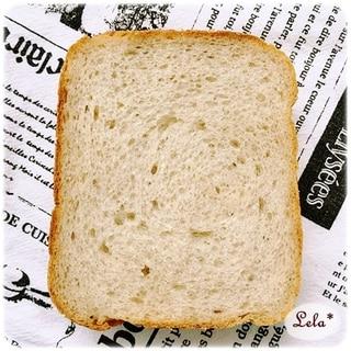 ライ麦食パン @ ホームベーカリー
