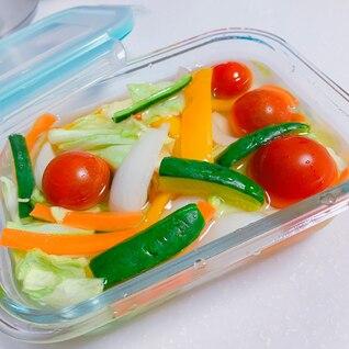ジッパーで簡単❗夏野菜ピクルス