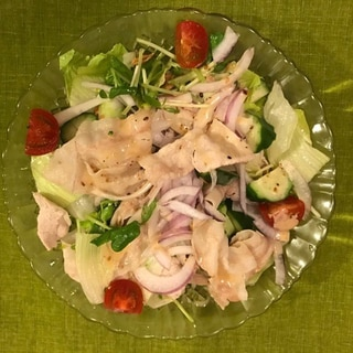 冷しゃぶサラダ
