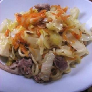 ちゃんぽん麺で作る 皿うどん