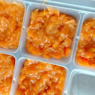 離乳食中期~トマトジュースのとろとろ煮込み