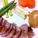 本格★蒸し豚バルサミコソース★